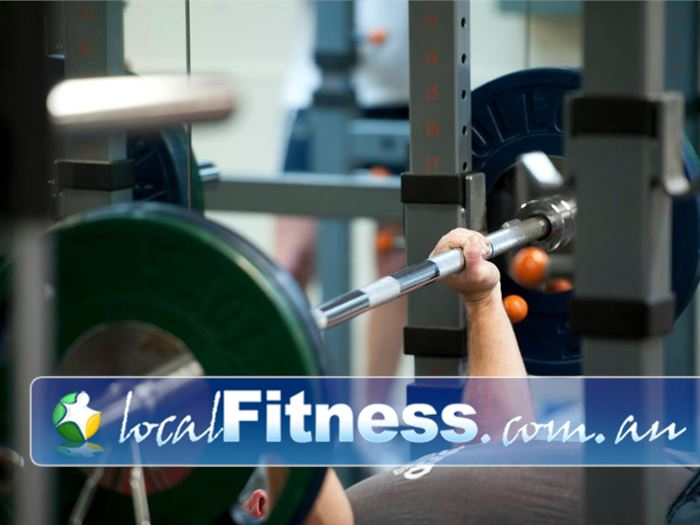 Fitcity24:7 Woolloongabba Fully equipped with dumbbells, barbells, free-weights and more.