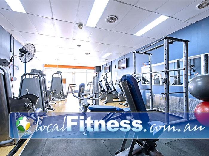 Plus Fitness 24/7 Gym The Oaks  | A fully equipped free-weights area for all your