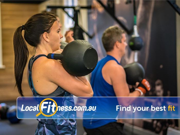 12 Round Fitness Near Eveleigh Combining functional strength, cardio and boxing drills.
