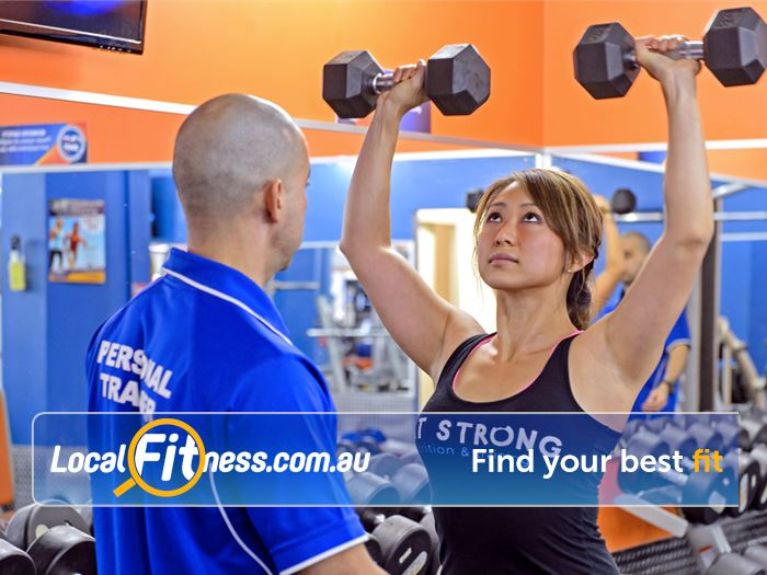 Plus Fitness 24/7 Near Woolloomooloo Learn the right training technique with Plus Fitness personal training.