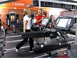 World Gym Adelaide Gym Fitness Individual TV screens on all