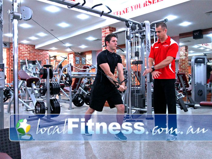 World Gym Adelaide Experienced Adelaide gym instructors will guide you through a structured workout.