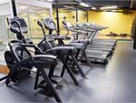 Fully equipped cardio area with treadmills, cross-trainers and