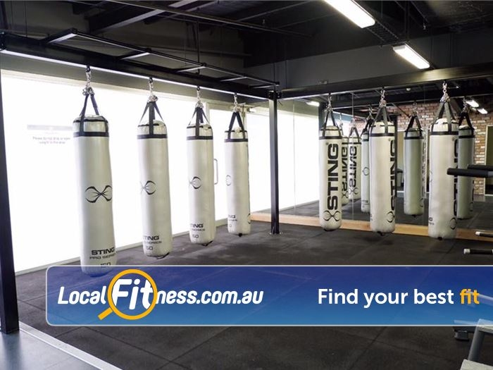 Trination Fitness 24/7 Gym Erskineville  | Dedicated Waterloo Boxing area.