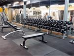 Get into strength training in our free-weights area.