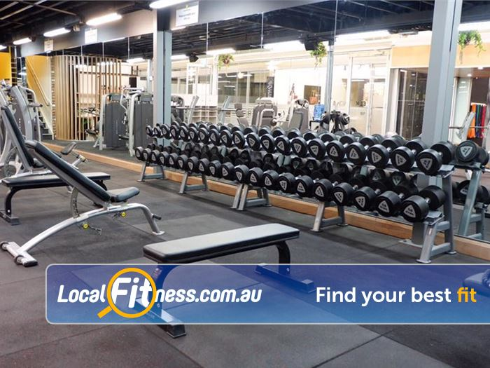 Trination Fitness 24/7 Near Zetland Get into strength training in our free-weights area.