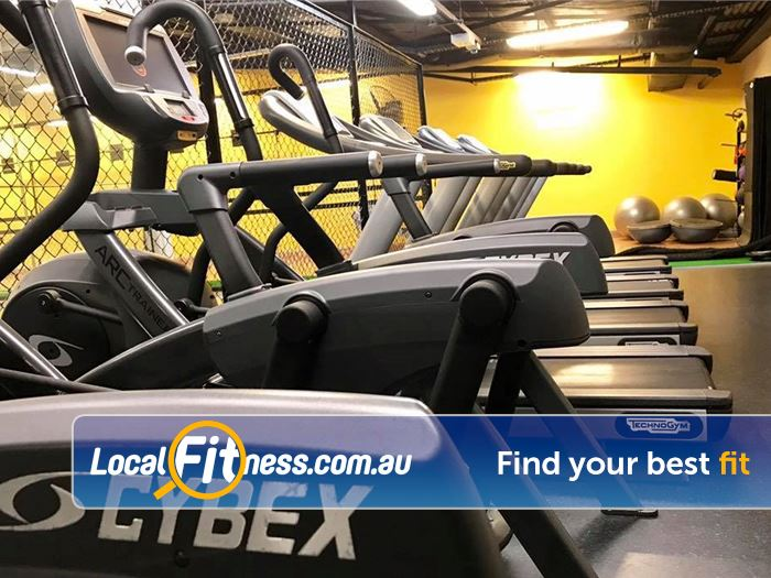 Trination Fitness 24/7 Near Rosebery Our Waterloo gym includes state of the art cardio.