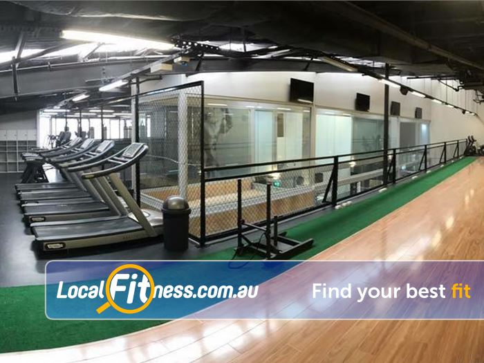 Trination Fitness 24/7 Waterloo The dedicated functional HIIT training area.