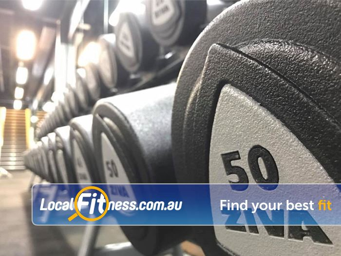 Trination Fitness 24/7 Near Zetland Fully equipped Waterloo gym with dumbbells up to 50kg.