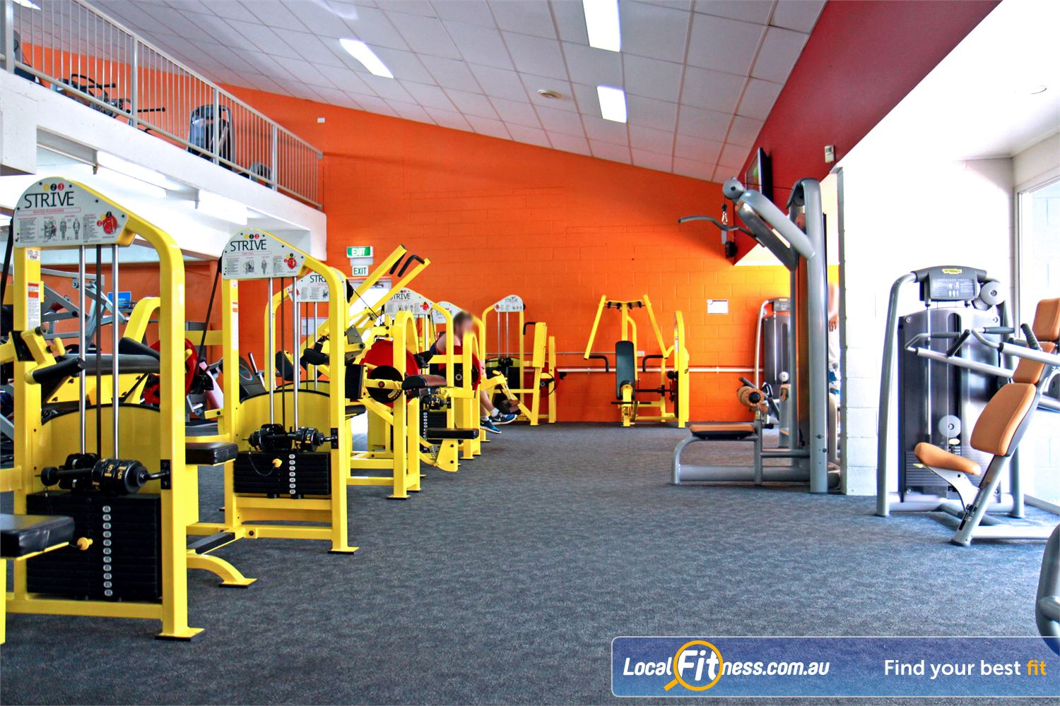 Goodlife Health Clubs Morningside Our Morningside gym includes the innovative 1-2-3 Strive strength series.