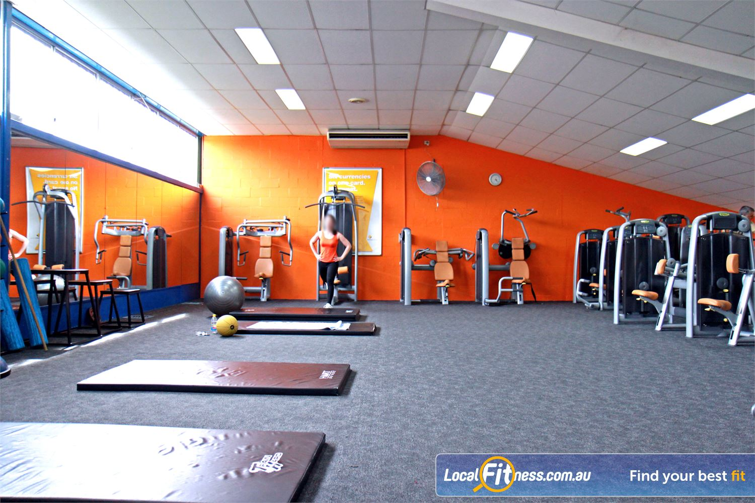 Goodlife Health Clubs Near Balmoral At our Morningside gym you can enjoy the comfort of Technogym equipment.
