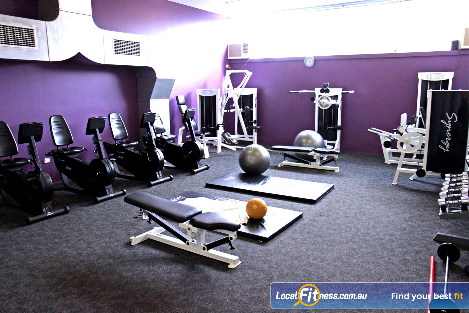 Goodlife Health Clubs Near Bulimba The private and uninterrupted Morningside ladies gym.