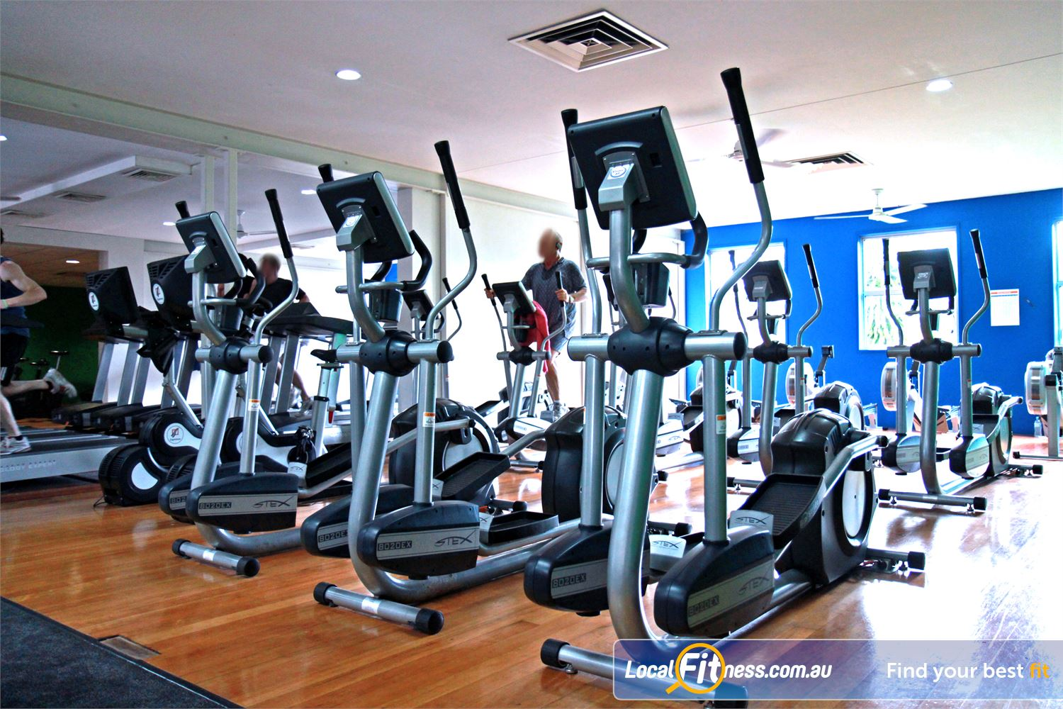Goodlife Health Clubs Morningside Goodlife Morningside gym provides multiple machines so you don't have to wait.