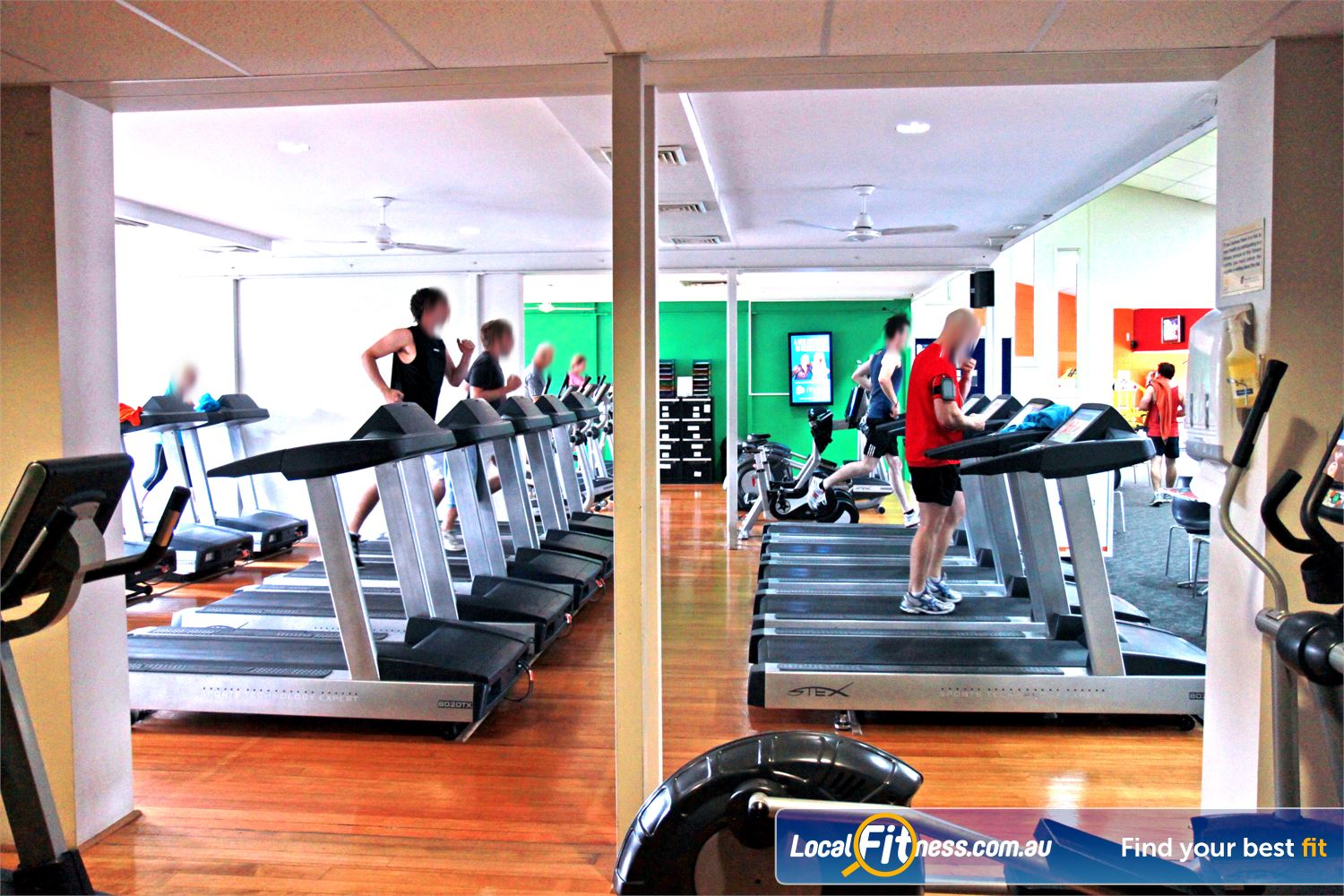 Goodlife Health Clubs Near Balmoral The latest cycle bikes, cross trainers and treadmills from Stex Fitness.