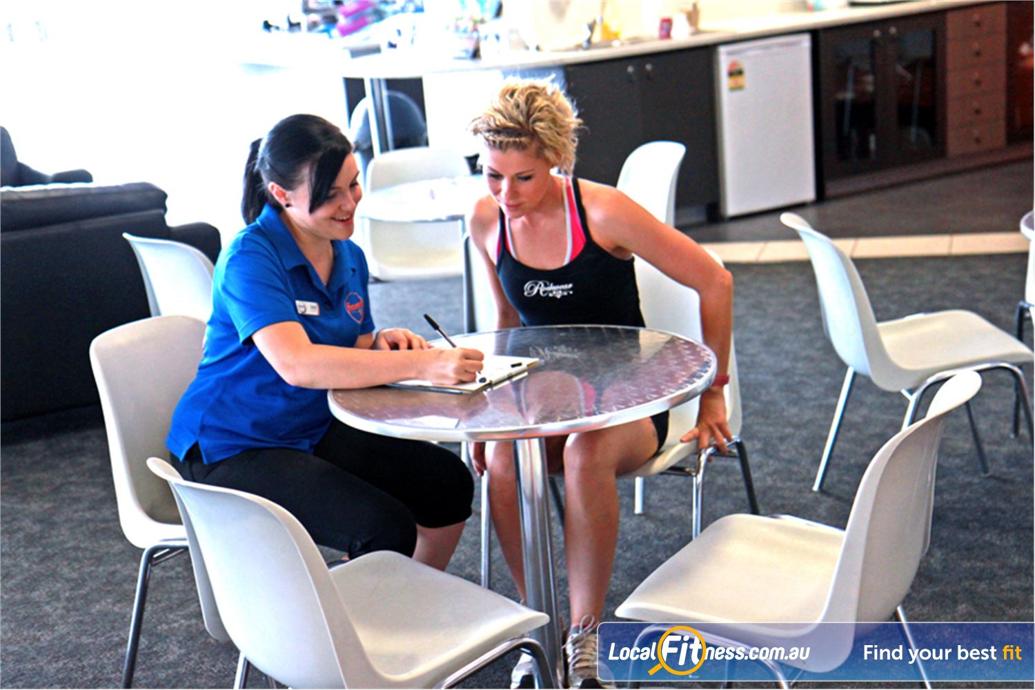 Goodlife Health Clubs Morningside Morningside personal trainers specialise in weight-loss and strength training.
