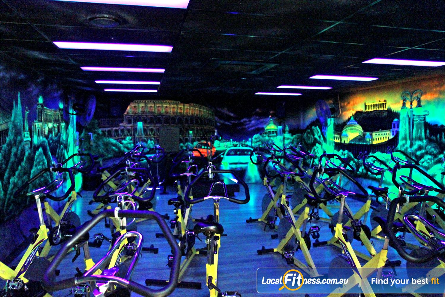Goodlife Health Clubs Near Bulimba High energy instructors will help you burn calories in an energetic Morningside spin class.