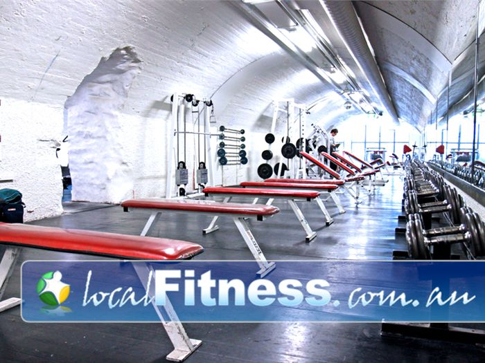 Doherty's Gym Gym Melbourne    The historical Banana Alley vaults Melbourne gym.