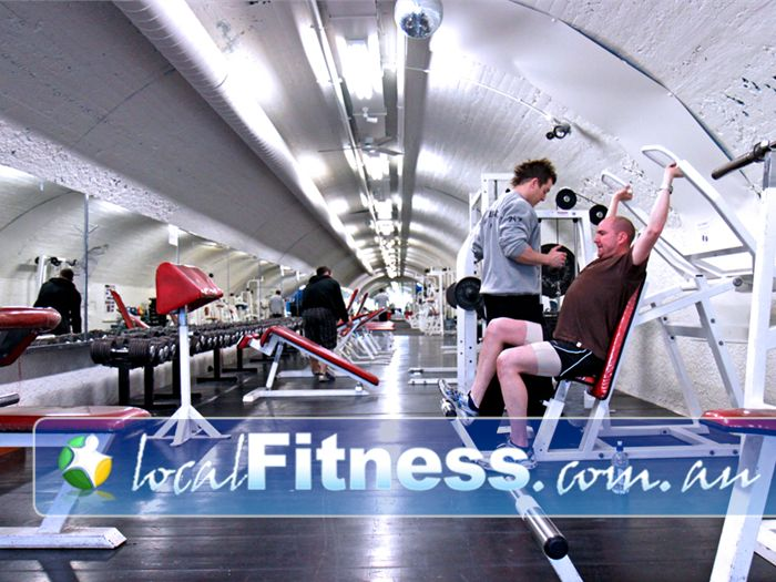 Doherty's Gym Gym Docklands    The bright and spacious Melbourne gym floor at