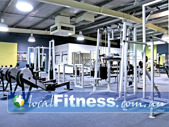 Platinum Health & Fitness Centre Gym Endeavour Hills  | The spacious Rowville gym.