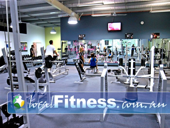 Platinum Health & Fitness Centre Gym Endeavour Hills  | Our spacious free-weights area in our Rowville gym.