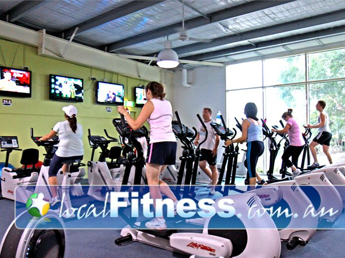 Platinum Health & Fitness Centre Near Scoresby Tune into your favorite show while you workout.