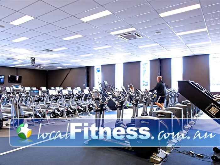 Genesis Fitness Clubs Near Macquarie Hills The Genesis Warners Bay gym provides a state of the art Cardio theatre.