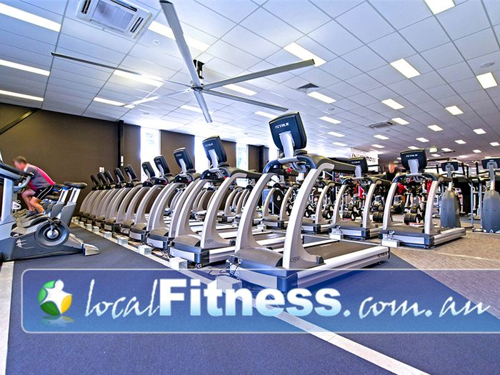 Genesis Fitness Clubs Warners Bay Enjoy your own personal entertainment screens while you do your cardio.