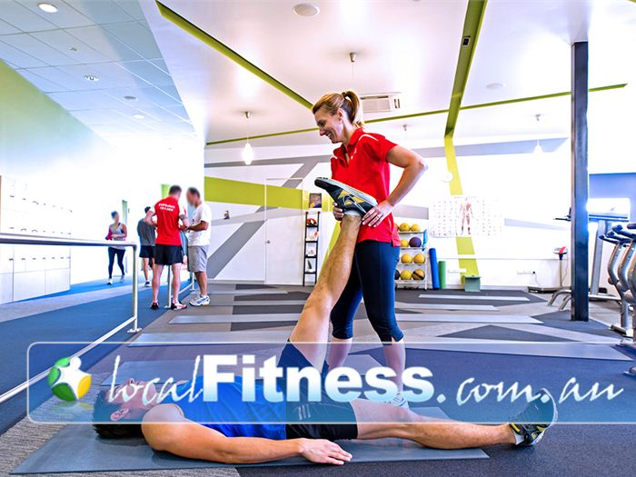 Genesis Fitness Clubs Warners Bay Fully equipped with fit balls, medicine balls, stretching mats and more.