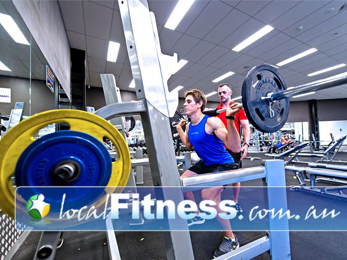 Genesis Fitness Clubs Warners Bay Our Warners Bay personal trainers can take you through a strength training program.