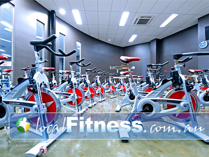 Genesis Fitness Clubs Near Cardiff South The state of the art Schwinn cycle studio.