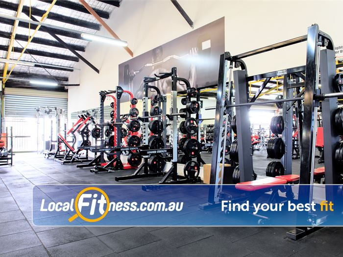 Fox Fitness Gowanbrae Gym Fitness Heavy duty machines include