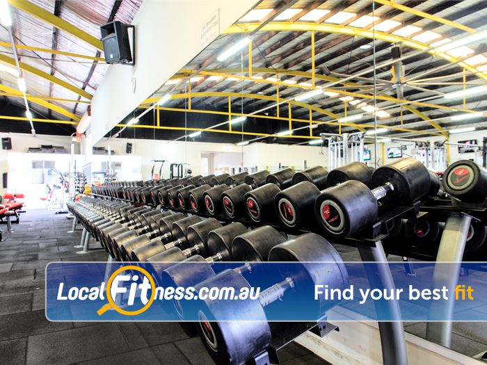 Fox Fitness Niddrie Our Niddre gym provides a fully equipped free-weights area.