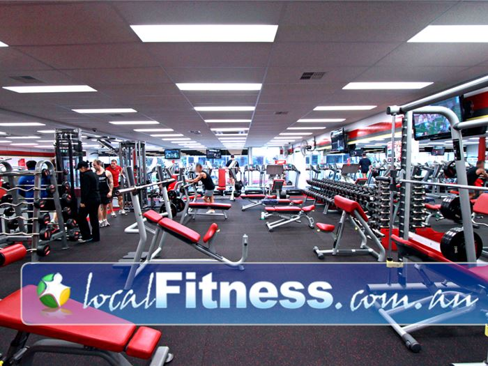 Snap Fitness Gym Bedford  | Strength training with a fully equipped free-weights area.