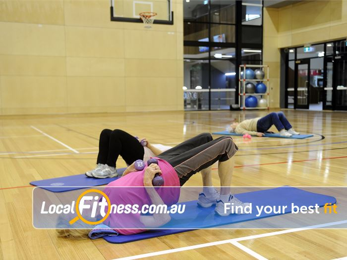 Boroondara Sports Complex Bulleen Gym Fitness Stretch and relax with Balwyn