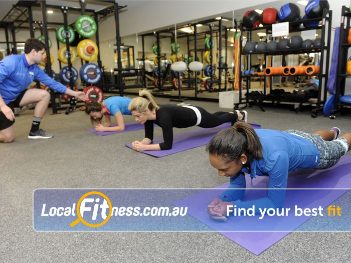 Boroondara Sports Complex Balwyn North Gym Fitness Challenge yoru core with our