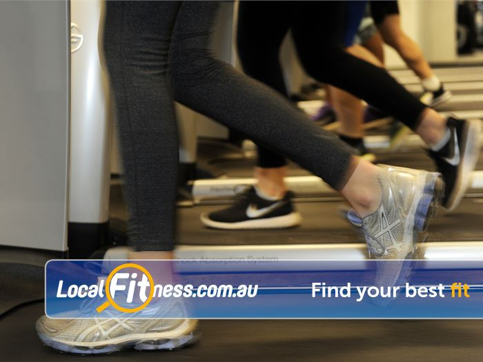 Boroondara Sports Complex Canterbury Gym Fitness Multiple treadmills so you