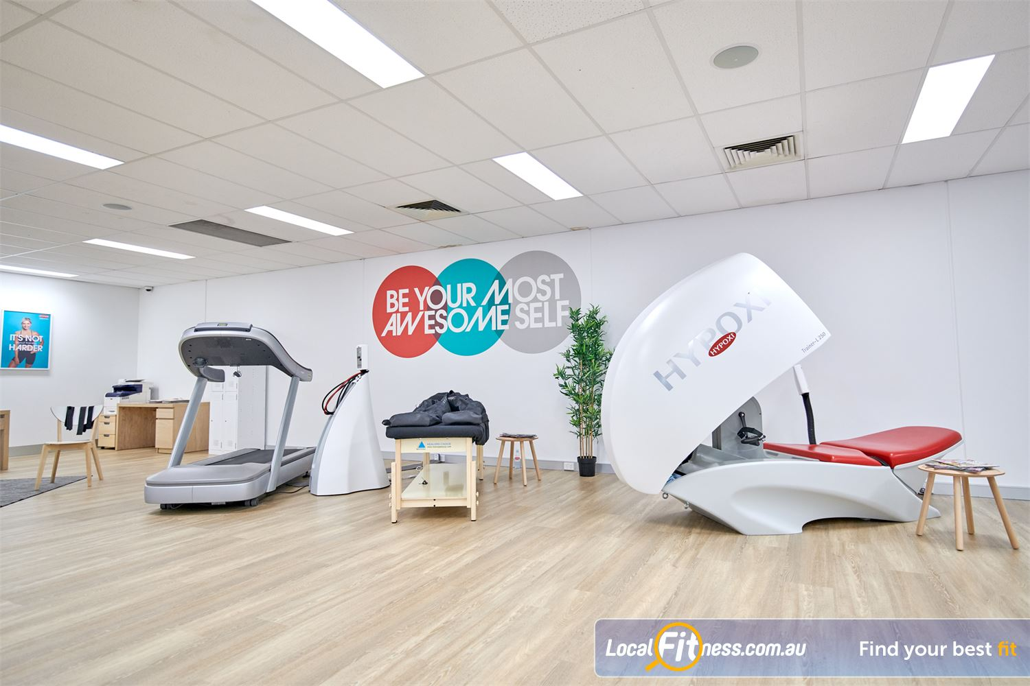 HYPOXI Weight Loss Camberwell Welcome to the future of exercise at HYPOXI Camberwell weight loss studio.