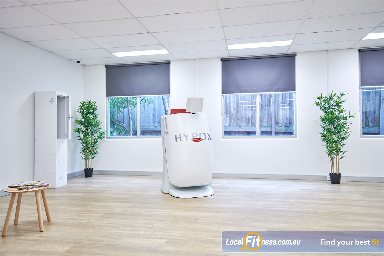 HYPOXI Weight Loss Near Ashburton The HYPOXI S120 is an upright machine targeting stubborn fat around your hips, lower stomach, bottom.