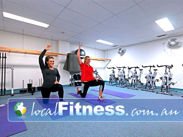 Healthstream Near Elsternwick Fully equipped for core and stretching.