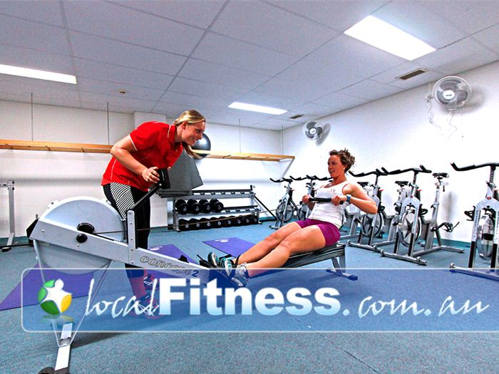 Healthstream Near Gardenvale Incorporate rowing into your Caulfield personal training session.