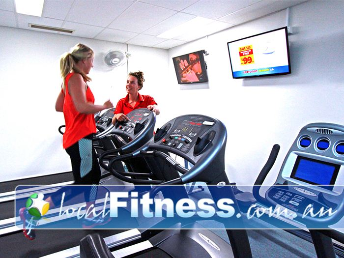 Healthstream Caulfield Tune into your favourite shows while you train.