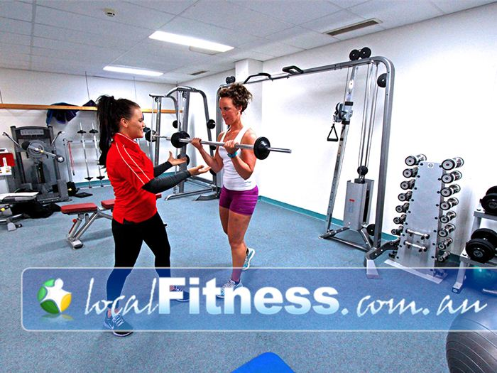 Healthstream Caulfield Strengthen your body with free-weights training.