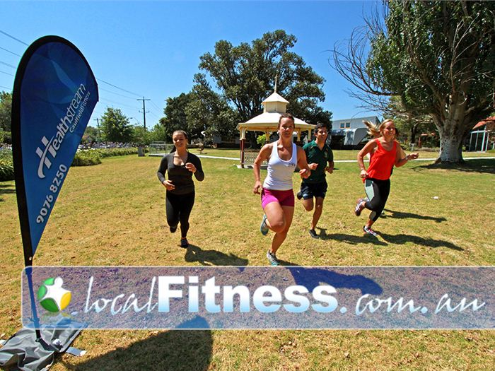 Healthstream Near Elsternwick Caulfield personal trainers can combine indoor and outdoor training into your workout.