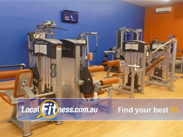 Plus Fitness 24/7 Near North Epping State of the art Epping gym access 24 hours a day.