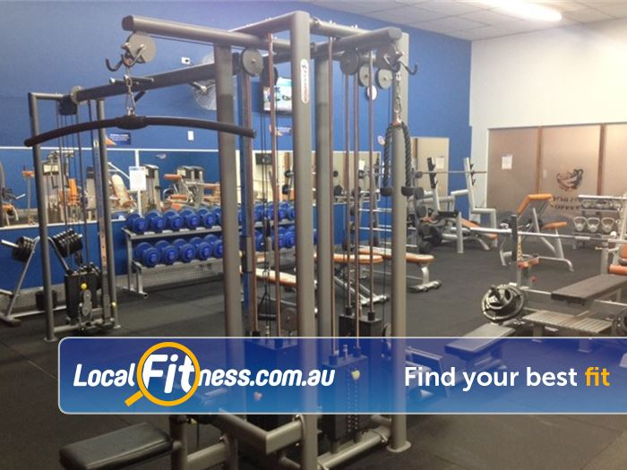 Plus Fitness 24/7 Epping Our Epping gym provides easy to use pin-loading machines.
