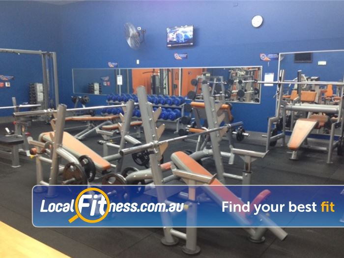 Plus Fitness 24/7 Near North Epping Our 24 hour Epping gym provides a comprehensive free-weights area.