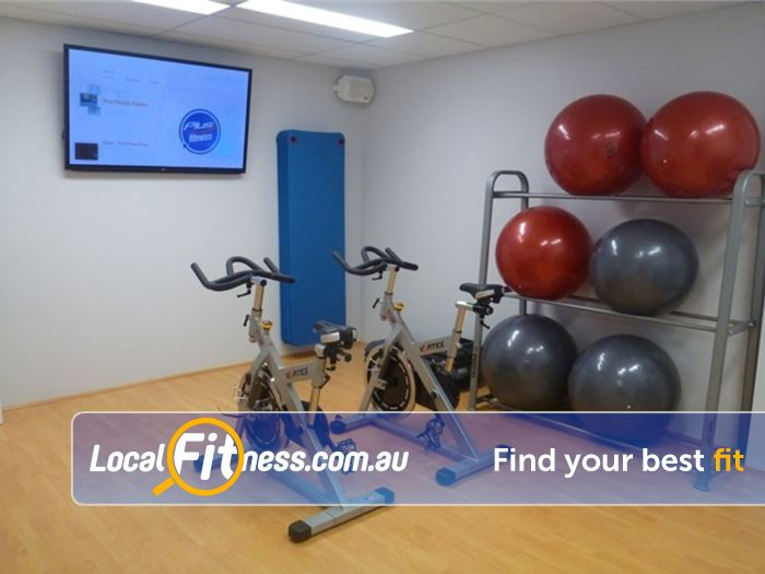 Plus Fitness 24/7 Near Eastwood Enjoy virtual cycle classes 24 hours a day in Epping.