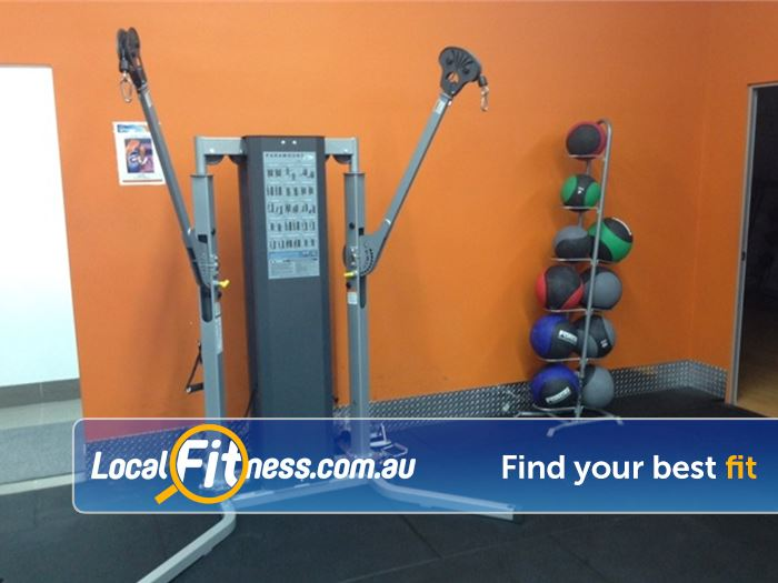 Plus Fitness 24/7 Epping Functional training at Plus Fitness Epping.