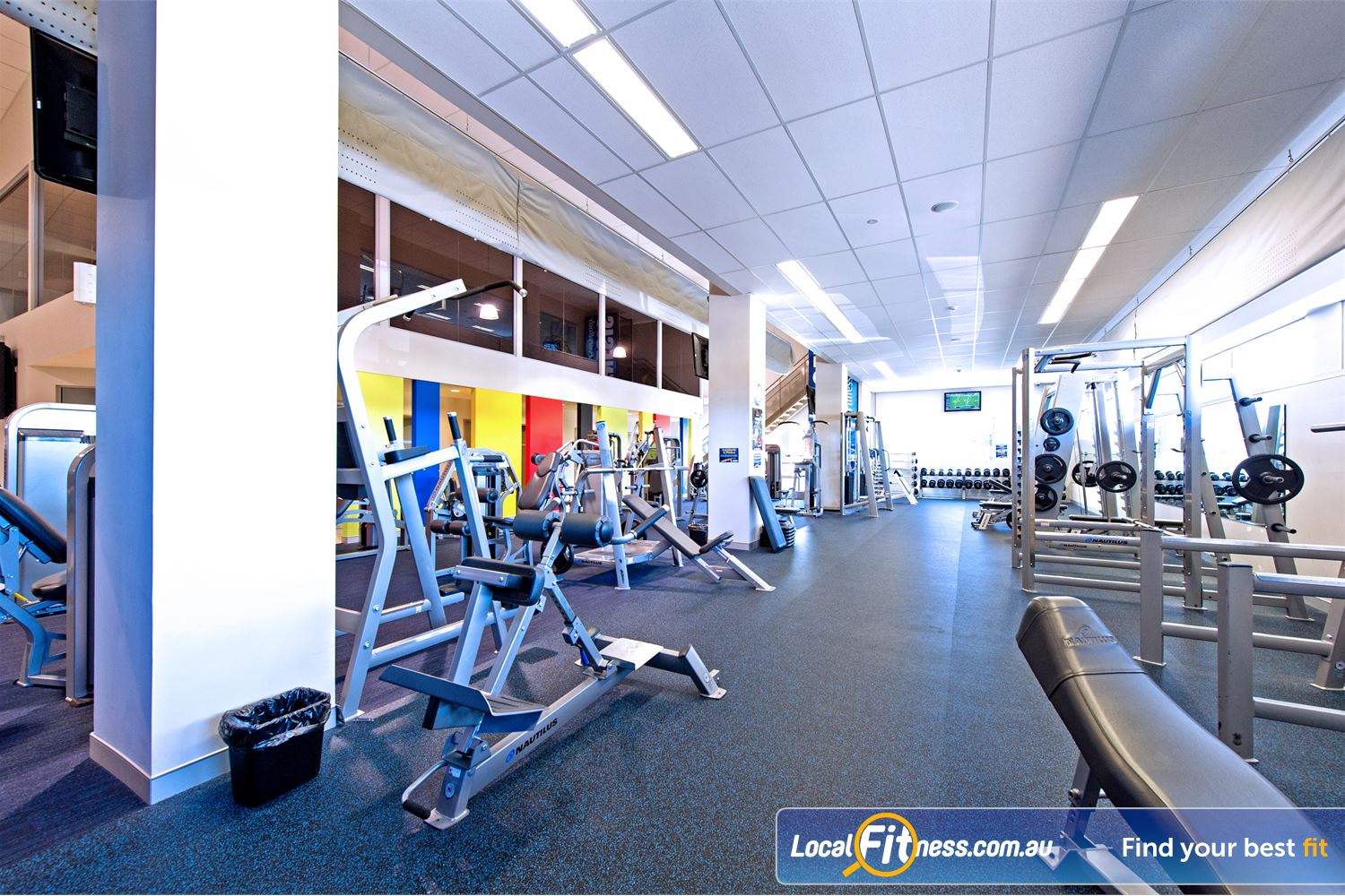 Genesis Fitness Clubs Parramatta Genesis Parramatta gym is located in the old Australia Post gym.