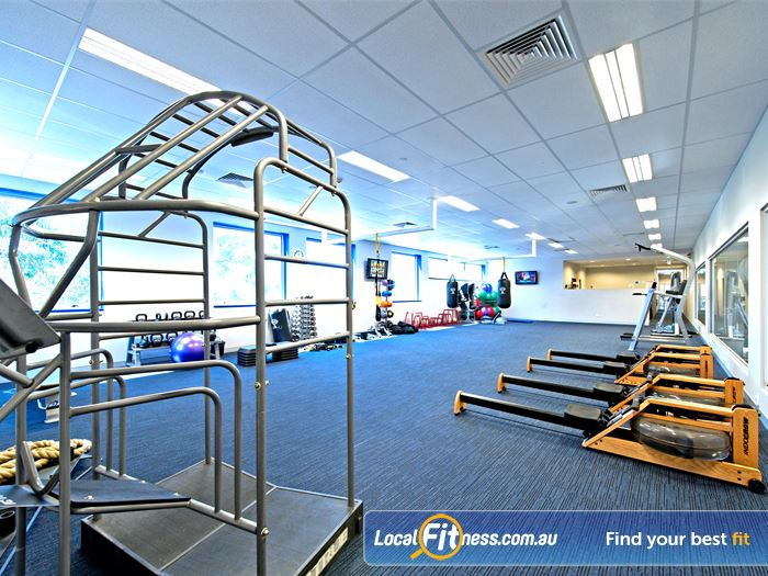 Genesis Fitness Clubs Gym Baulkham Hills    State of the art equipment from Nautilus.